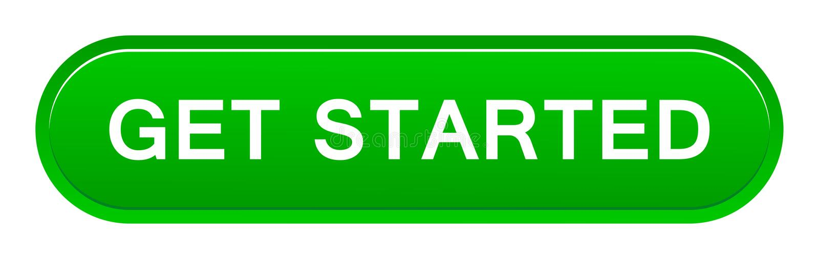 Get started button royalty free illustration