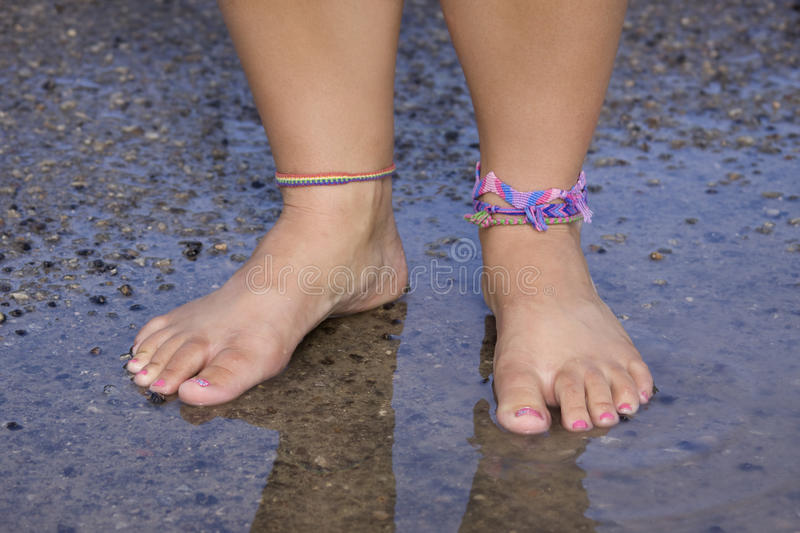 Download Get Your Feet Wet stock photo. Image of enjoyment, shallow - 11350930
