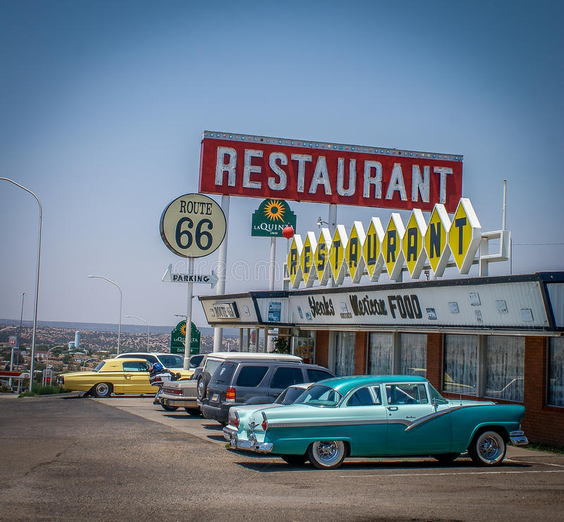 Get your Kicks on route 66 royalty free stock image