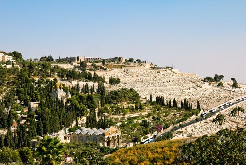 Gethsemane och nationerna för kyrka allra arkivbild