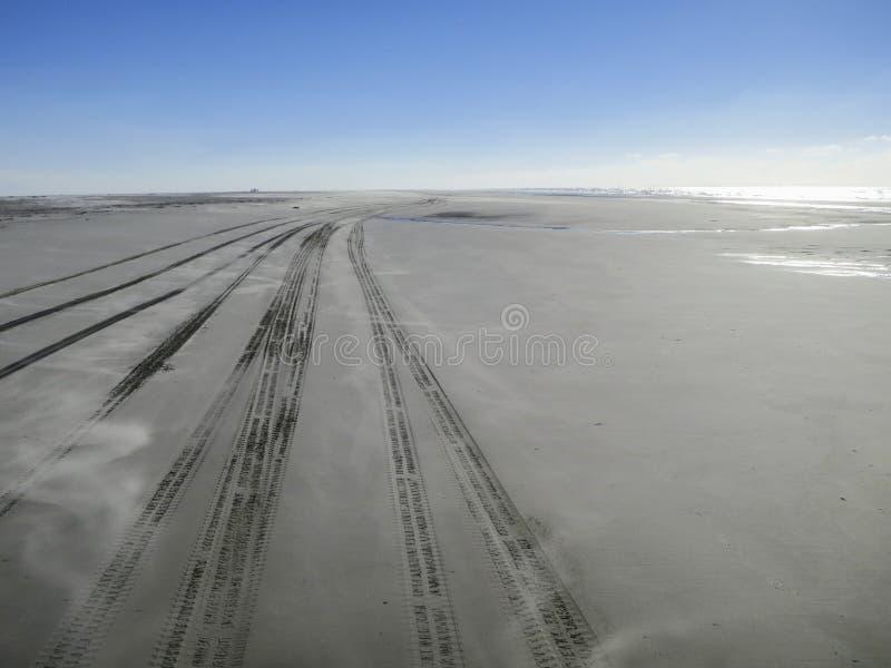 Getijdengebied Vliehors, llanos de marea Vliehors fotos de archivo libres de regalías