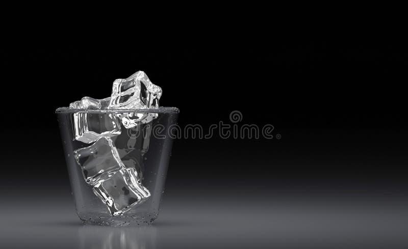 getränk  3d übertragen Abbildung 3D stock abbildung