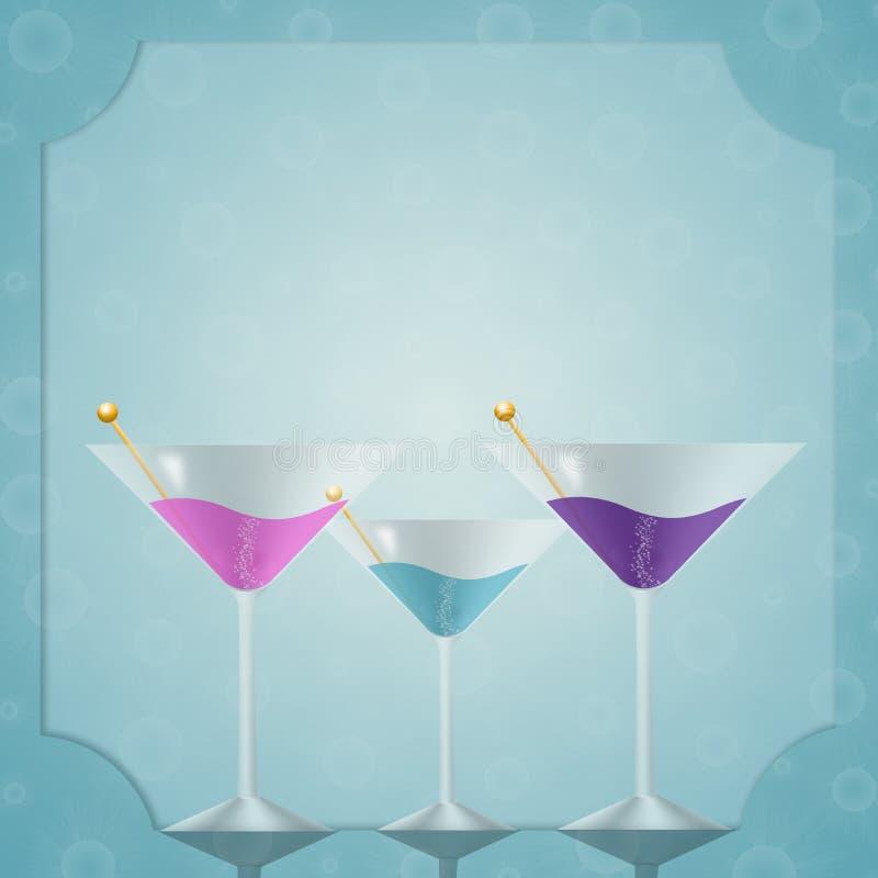 Getränk für Partei lizenzfreie abbildung