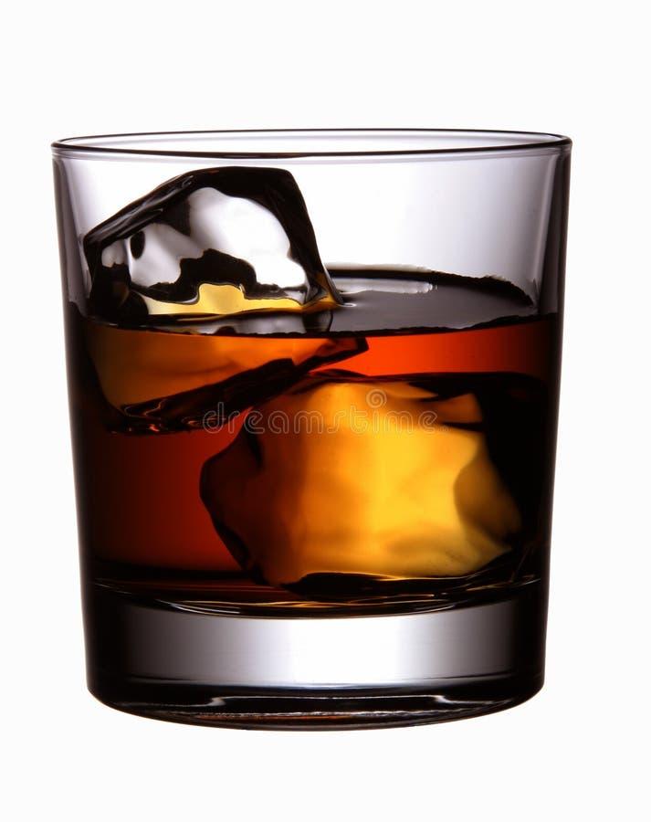 Getränk (Whisky) lizenzfreies stockbild