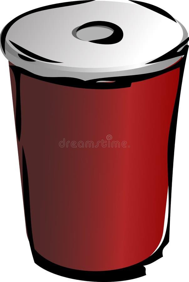 Getränkbehälter lizenzfreie abbildung
