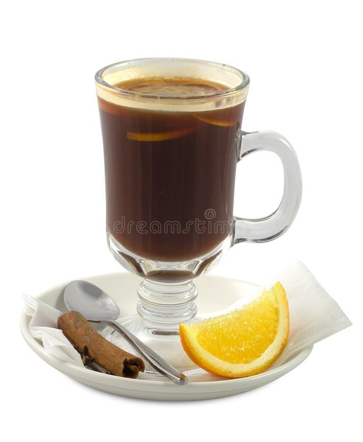 Getränkcocktail mit Kaffee lizenzfreies stockbild