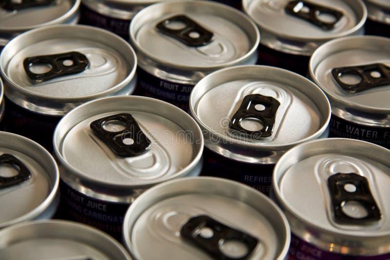 Getränkdosen lizenzfreie stockfotos