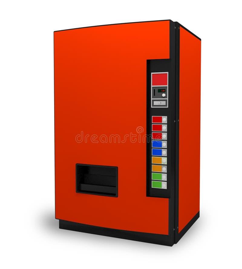 Getränkgetränke-automat lizenzfreie abbildung