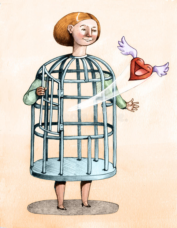 Getragen, frei zu sein