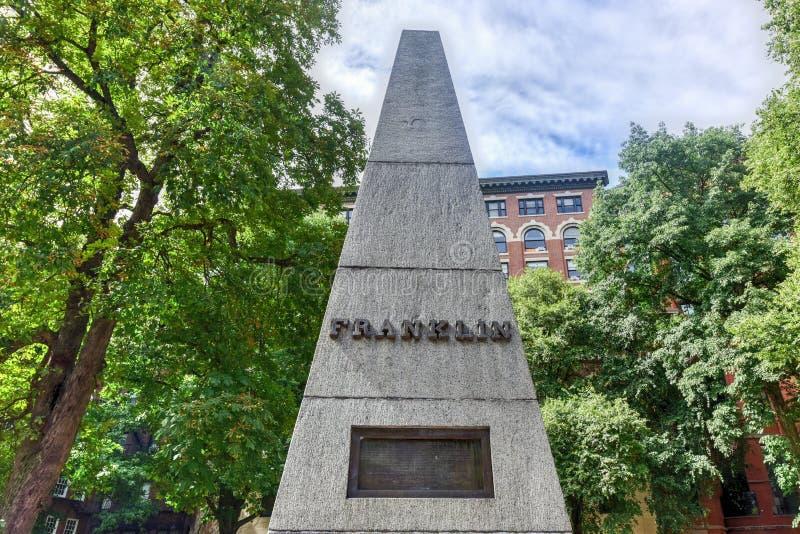 Getreidespeicher-Friedhof - Boston, Massachusetts lizenzfreies stockfoto