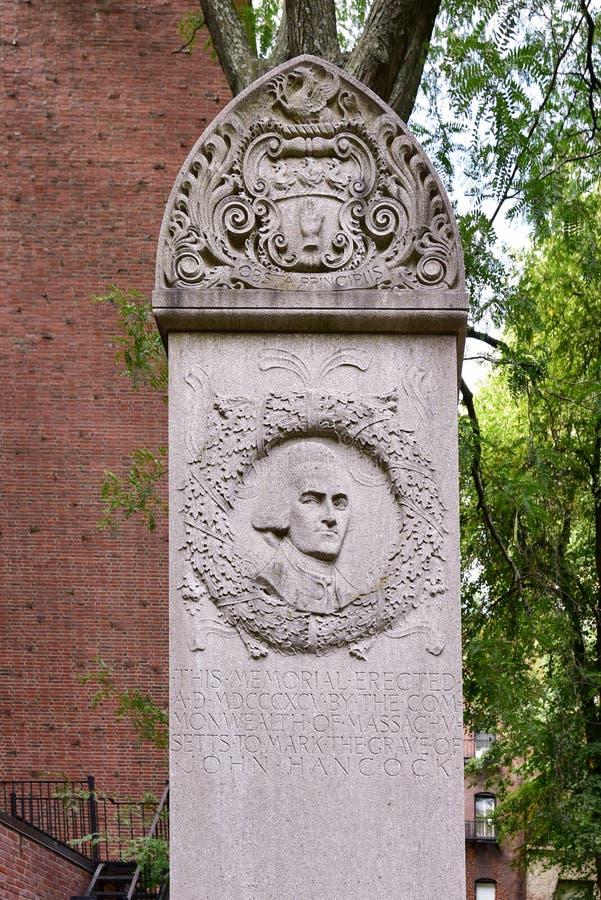 Getreidespeicher-Friedhof - Boston, Massachusetts lizenzfreie stockfotos