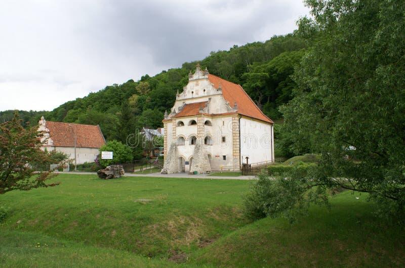 Getreidespeicher in Kazimierz Dolny stockfoto