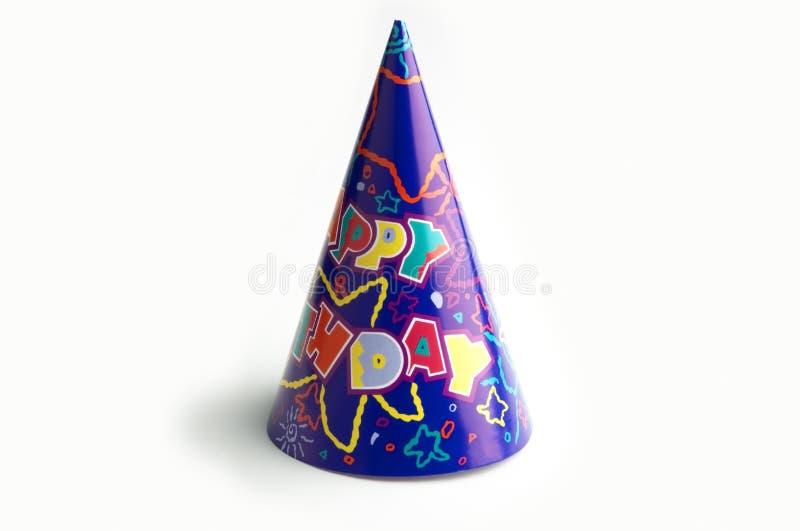 Getrennte Geburtstagschutzkappe stockbilder