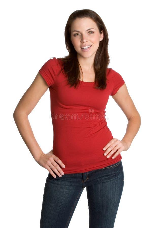 Getrennte junge Frau stockbilder
