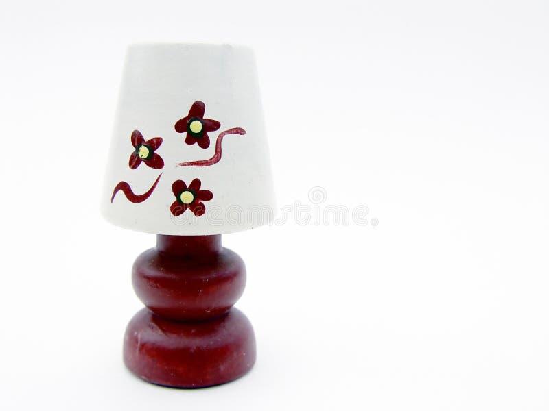 Getrennte Miniutre Lampe Lizenzfreie Stockbilder
