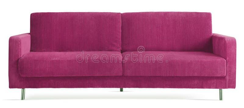 Getrennte moderne Couch lizenzfreie stockfotografie