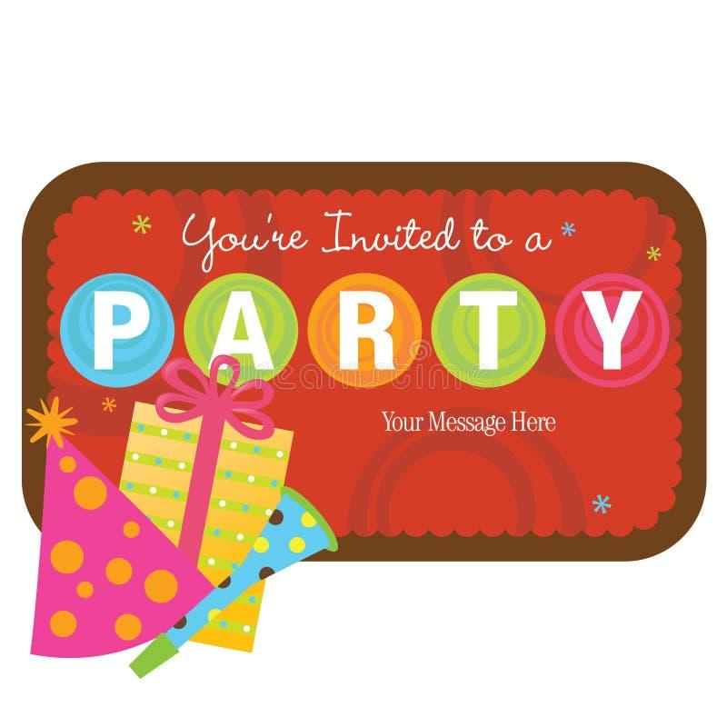 Download Getrennte Partyfelder Mit Zeichen Vektor Abbildung - Illustration von kreise, gruppe: 9083299