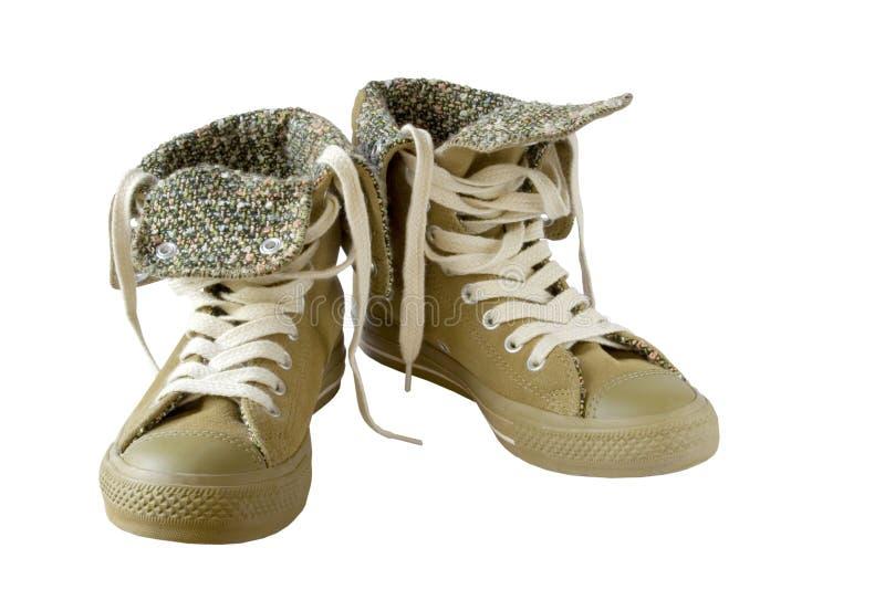 Getrennte Schuhe stockfoto