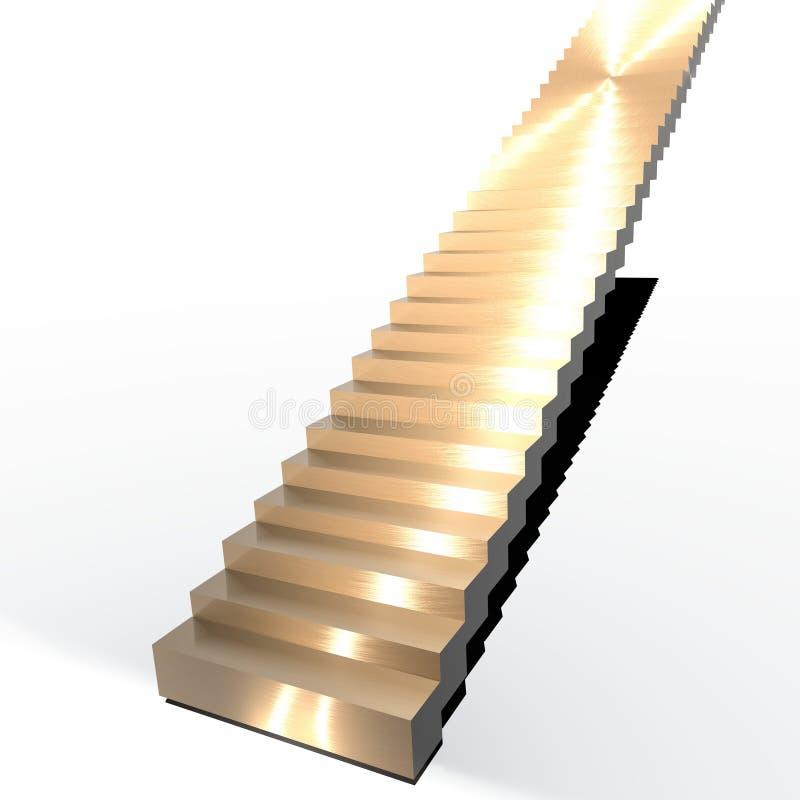 Getrennte Treppen vektor abbildung