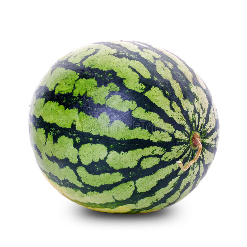 Getrennte Wassermelone stockbild