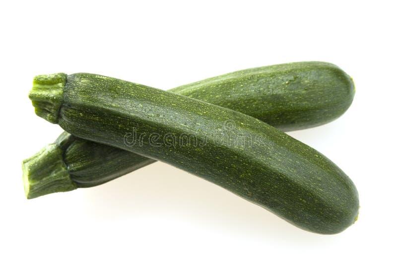 Getrennte Zucchini lizenzfreies stockbild
