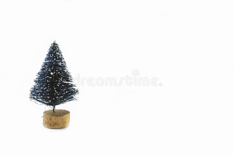 Download Getrennter Baum stockbild. Bild von baum, mini, weihnachten - 45277