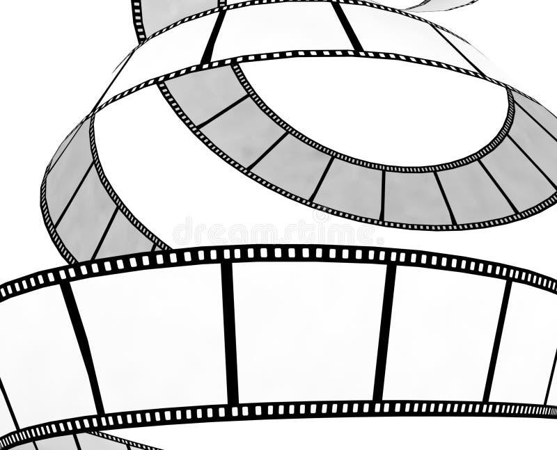 Getrennter Film-/Fotofilm stock abbildung
