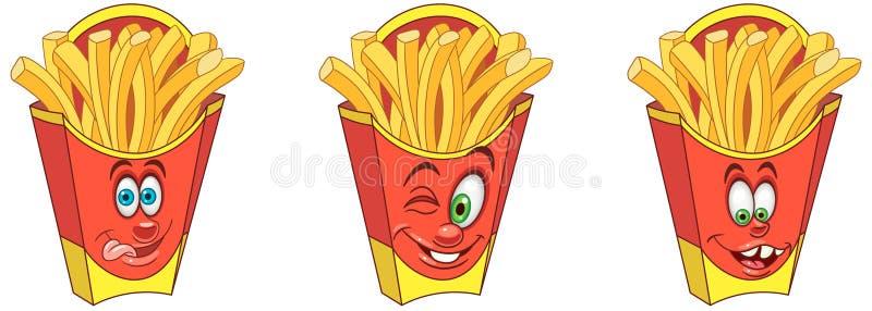 Getrenntes Bild mit Ausschnittspfad Snack-Food-Konzept vektor abbildung