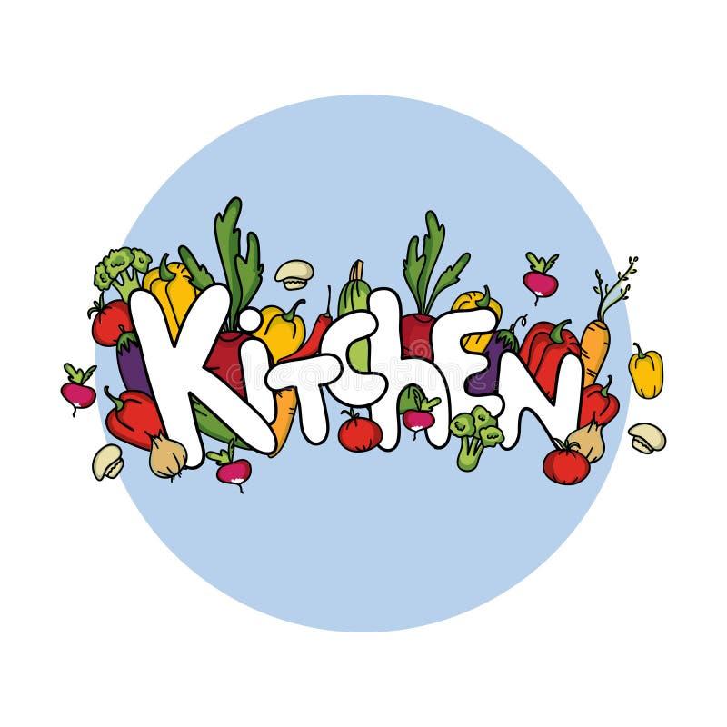 Download Getrenntes Gemüse Küche Abbildung Vektor Abbildung   Bild: 43291929
