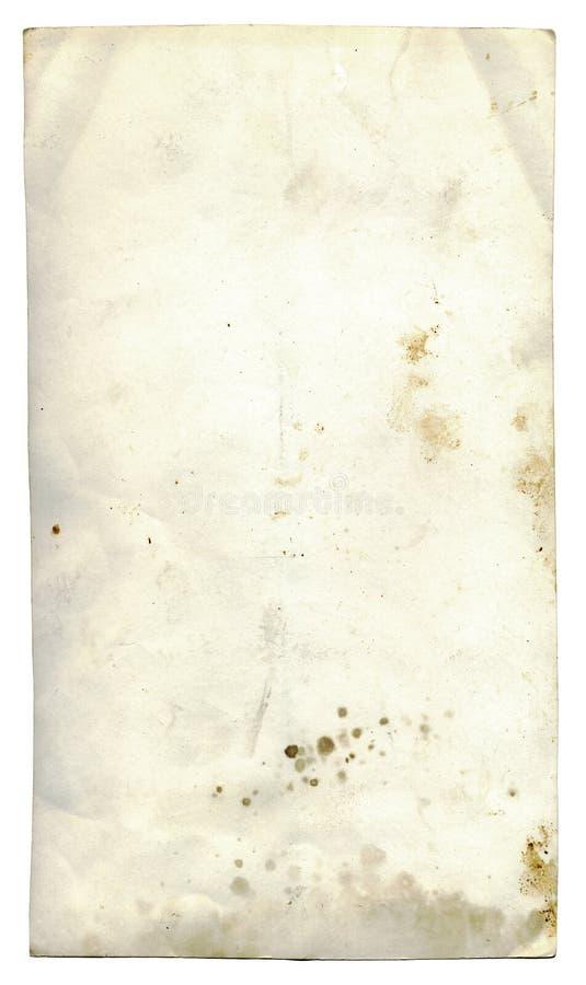 Getrenntes grunge Papier stockbilder