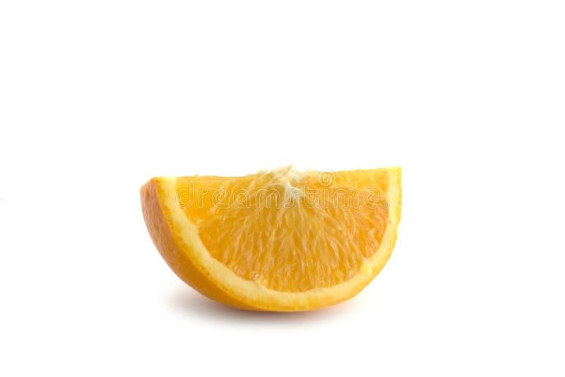 Getrenntes orange Segment stockfoto