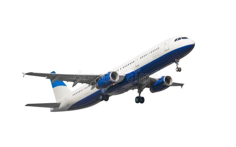 Getrenntes Strahlen-Verkehrsflugzeug lizenzfreie stockfotos