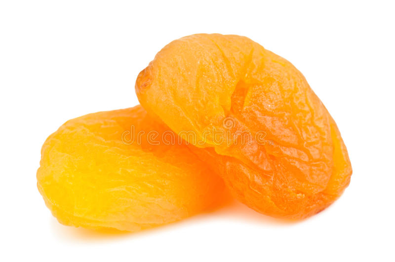 Getrocknete Aprikose stockbild