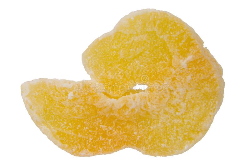 Getrocknete Hami-Melone lizenzfreies stockbild