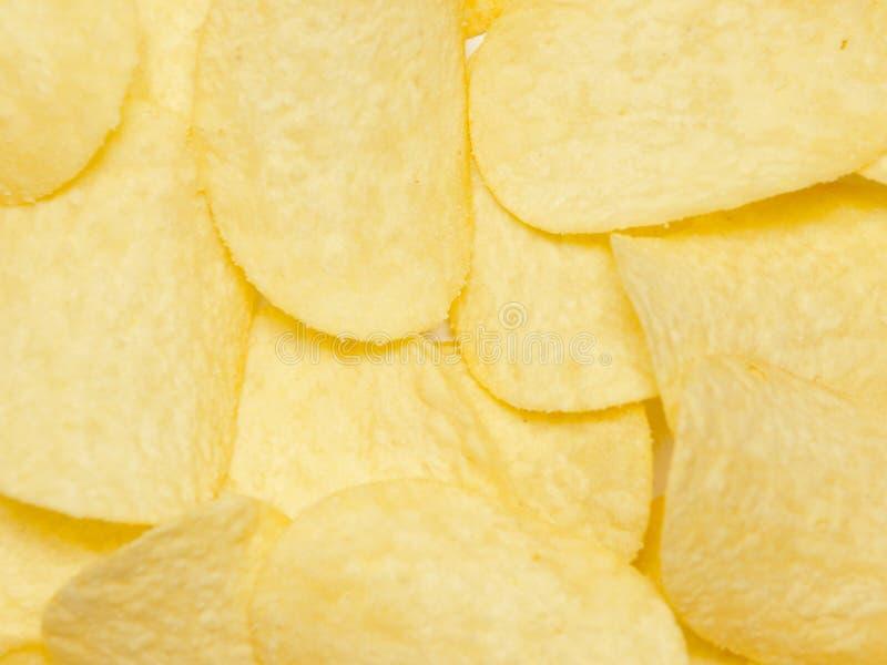 Getrocknete potatoe Chips lizenzfreies stockbild
