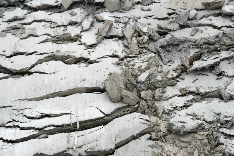 Getrockneter Clay Surface lizenzfreies stockfoto
