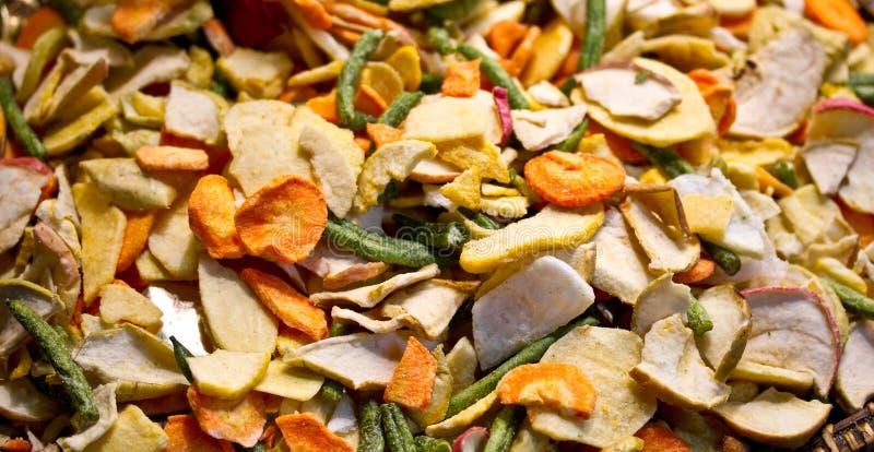 Getrocknetes Gemüse stockfoto