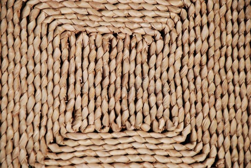 Getrocknetes Gras-Matte lizenzfreie stockbilder
