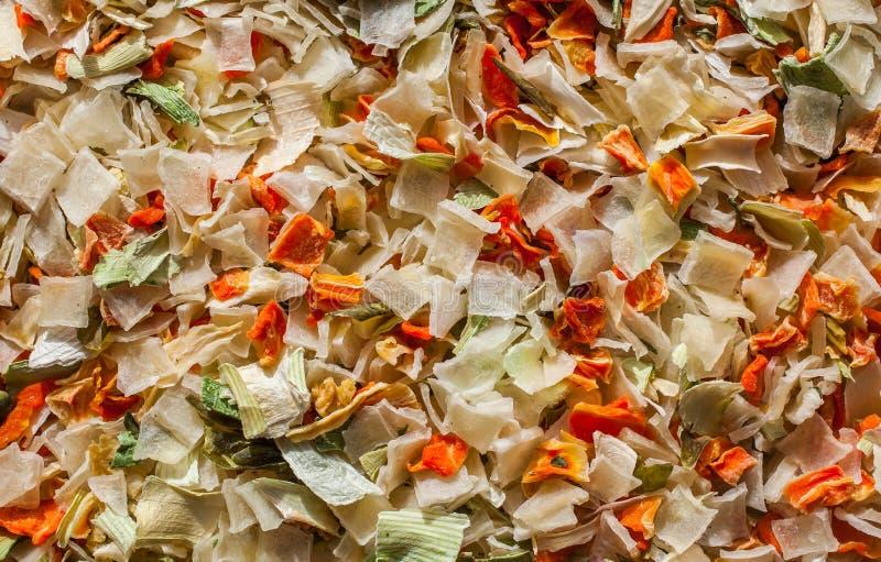 Getrocknetes Kraut und Gemüse stockbild