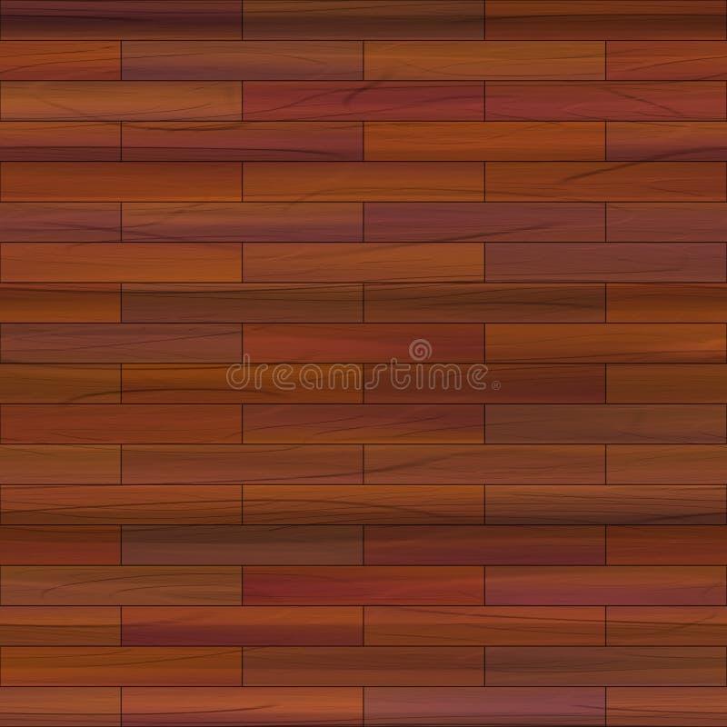 Getrokken hout stock illustratie