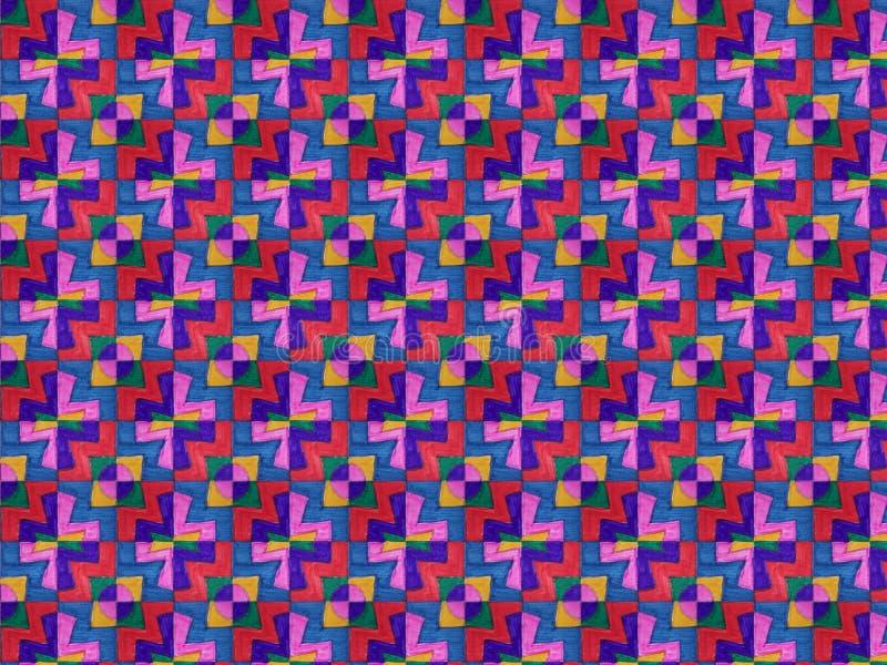 Getrokken textuur stock illustratie