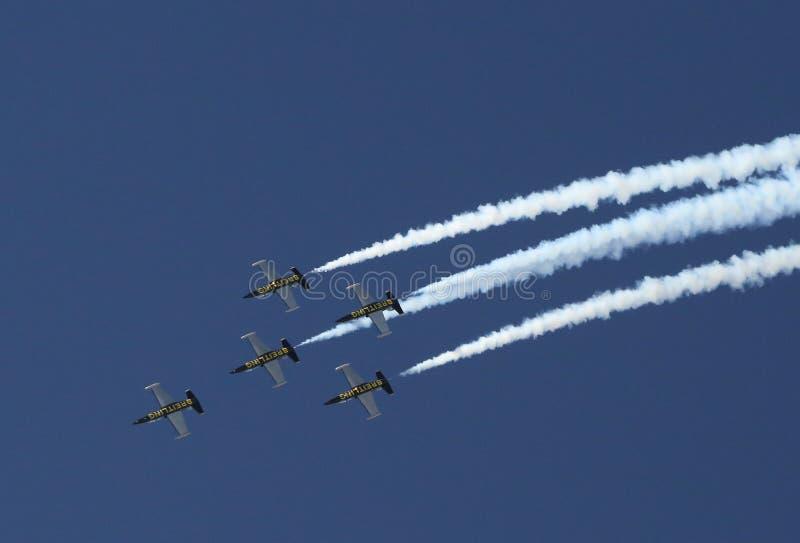 Getti di Breitling al convegno di divertimento di Sun n fotografie stock libere da diritti