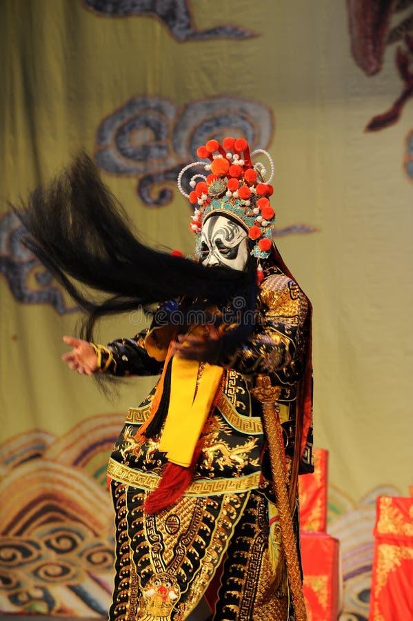 Getti l'opera dibarba-Pechino: Addio al mio concubine fotografia stock libera da diritti
