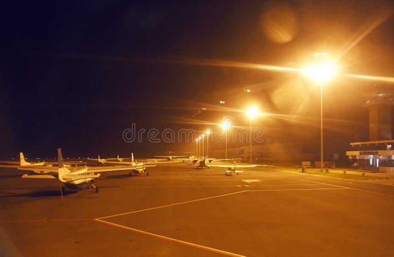 Getti privati in aeroporto fotografie stock