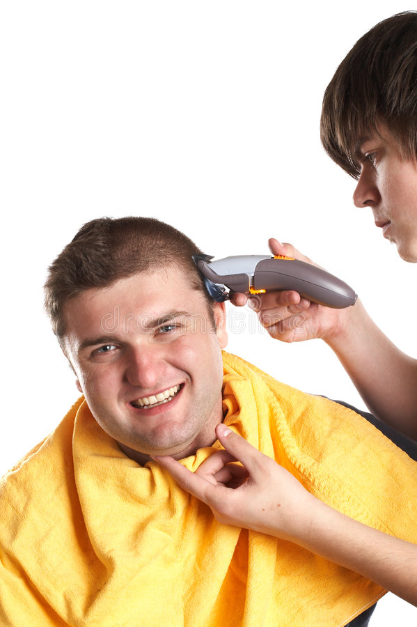 Free Getting A Haircut Royalty Free Stock Photo - 2099615