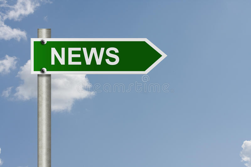 Download Getting the news stock photo. Image of getting, metal - 26220210