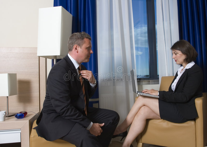 Download Getting ready stock photo. Image of consultant, hotel - 3105882