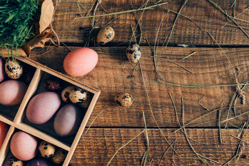Getting ready for Easter. royalty free stock photos