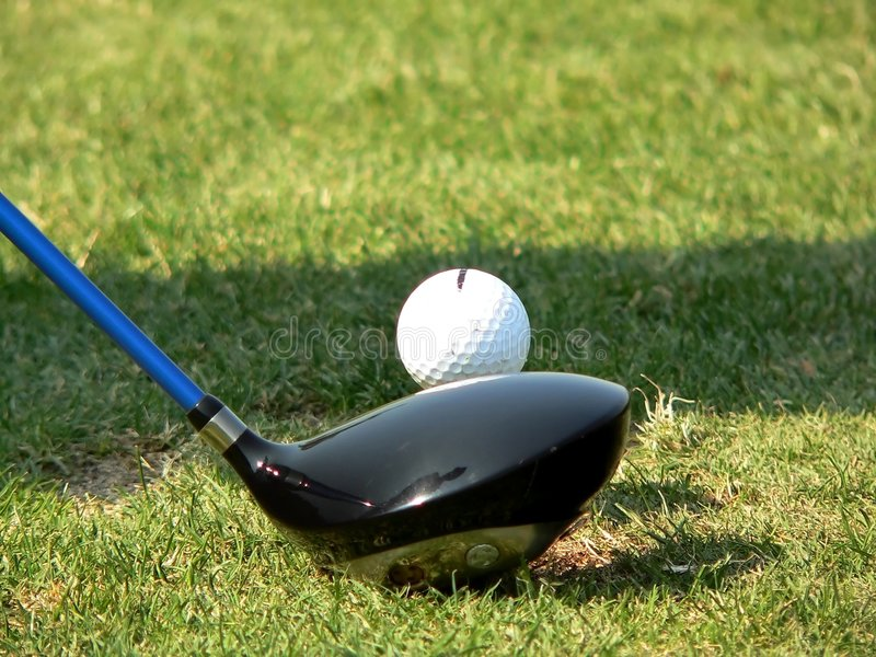 Download Getting Ready to Hit stock photo. Image of bogey, golf - 1279270
