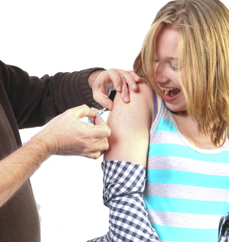 Download Getting A Vaccination Stock Image - Image: 17803811